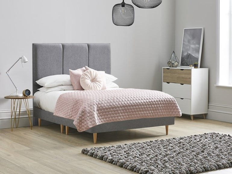 Tulip Fabric Bed Frame