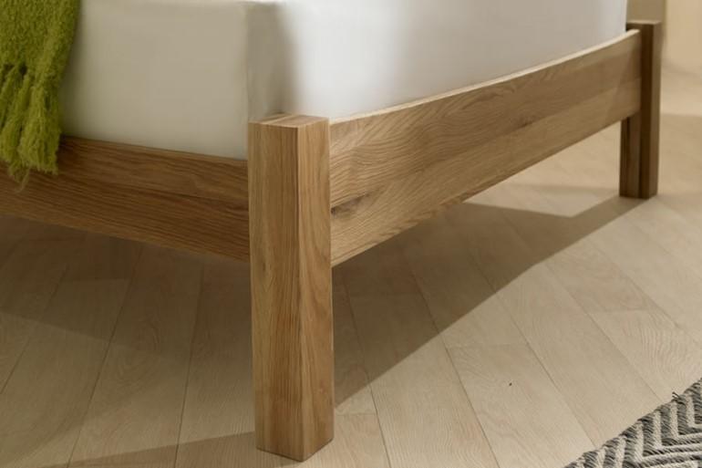 Milan Solid Oak Bedframe