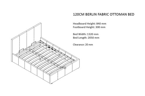Berlin Fabric Ottoman