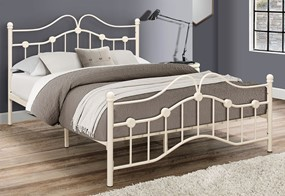 Canterbury Metal Bed - 4'6'' Double