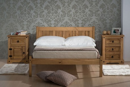 Rio Wooden Bed