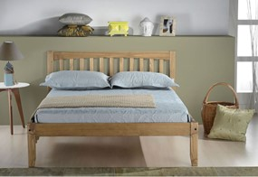 Porto Wooden Bed