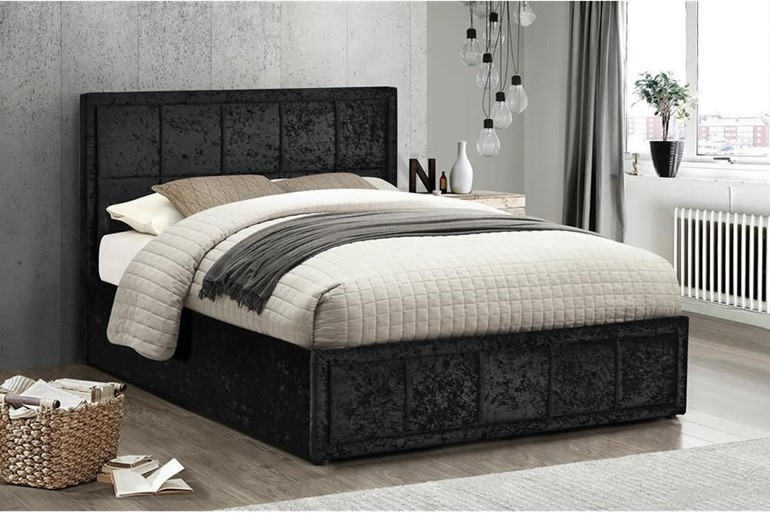 Hannover Fabric Ottoman