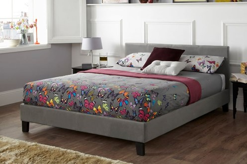 Evelyn Fabric Bed