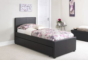 Carra Leather Guest Bed