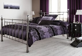 Clara Metal Bed - 4'6'' Double