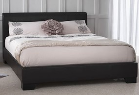 Parma Leather Bed