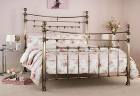 Edmond Metal Bed - 4'6'' Double