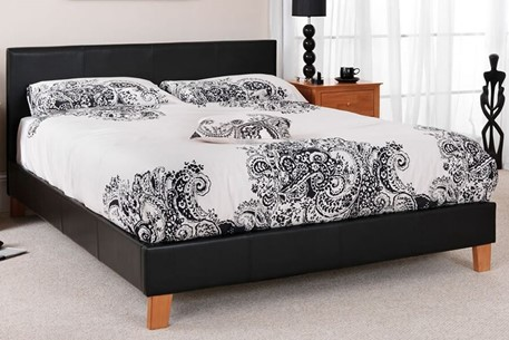 Tivoli Leather Bed