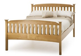 Eleanor High Wooden Bedframe