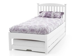 Eleanor Low Wooden Guest Bed