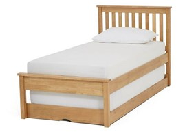 Heather Wooden Guest Bed