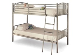Oslo Metal Twin Bunk Bed