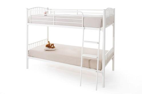 Oslo Metal Twin Bunk Bed