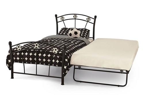 Soccer Metal Guest Bed