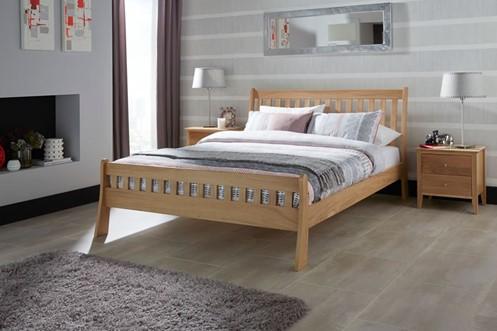 Colchester Solid Oak Bedframe