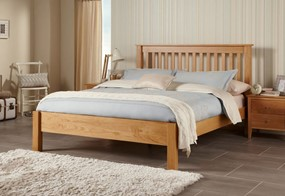 Lincoln Solid Oak Bedframe