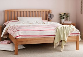 Thornton Oak Wooden Bedframe
