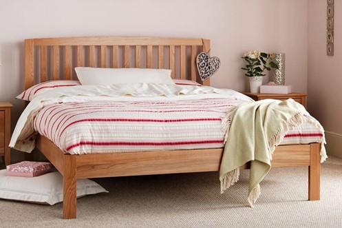 Thornton Oak Wooden Bedframe