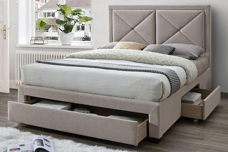 Cezanne Fabric Storage Bed