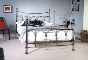 Gamma Metal Bedframe - 4'6'' Double