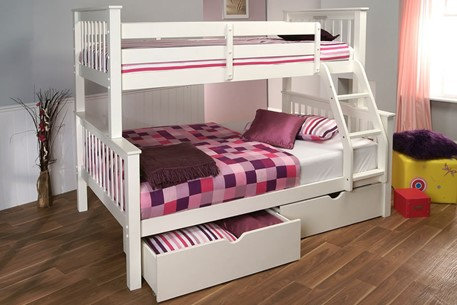Pavo Wooden High Sleeper