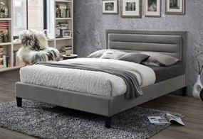 Picasso Fabric Bedframe - 5'0'' Kingsize Grey