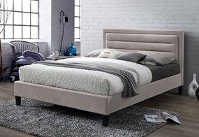 Picasso Fabric Bedframe - 4'6'' Double Mink