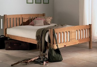 Sedna Wooden Bedframe - 4'6'' Double