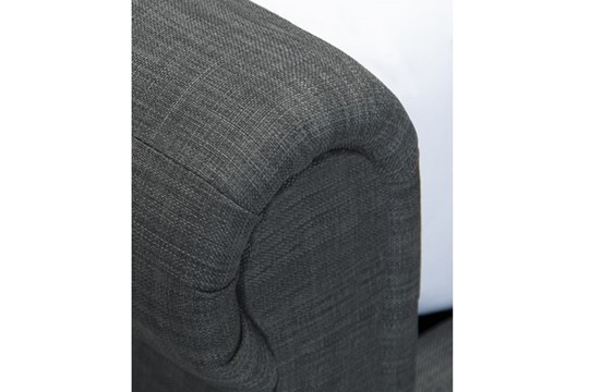 Oxford Fabric Ottoman