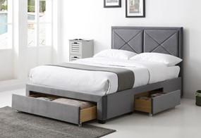Ravel Fabric Storage Bed