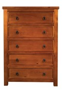 Euston Five Drawer Chest