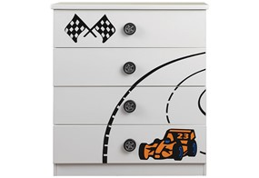 Grand Prix 4 Drawer Chest
