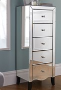 Palermo 5 Drawer Narrow Chest