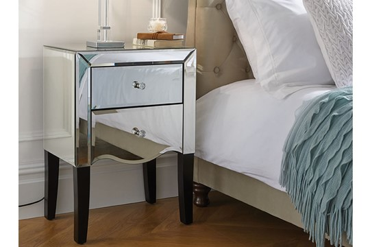 Palermo 2 Drawer Bedside