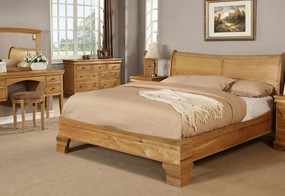 Grayson Oak Bedframe