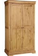 Grayson Oak Wardrobe