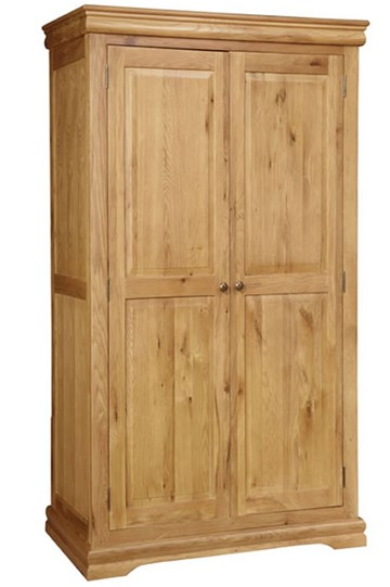 Grayson Oak Wardrobe
