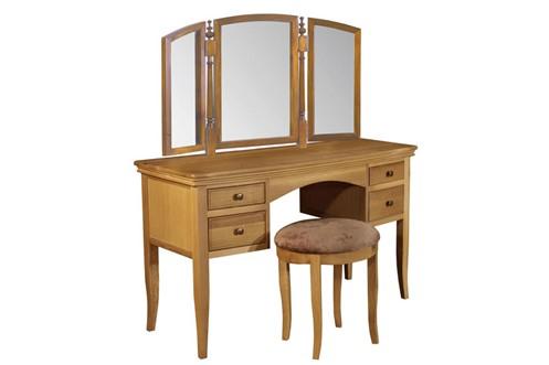 Grayson Oak Dressing Table