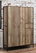 Urban Four Door Wardrobe