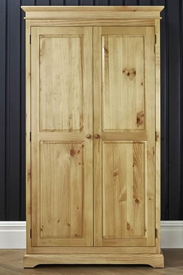 Suffolk Pine 2 Door Wardrobe