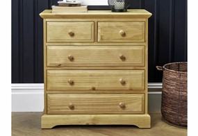 Suffolk Pine 3+2 Drawer Chest