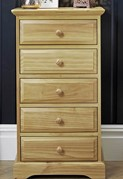 Suffolk Pine 5 Drawer Chest