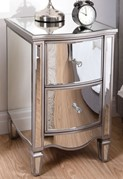 Elysee 2 Drawer Bedside