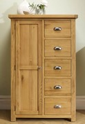 Woburn 1 Door 5 Drawer Robe