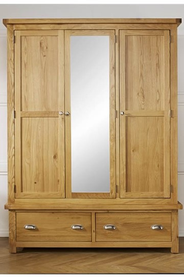Woburn 3 Door Wardrobe