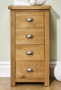 Woburn 4 Drawer Narrow Chest