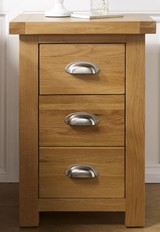 Woburn 3 Drawer Bedside