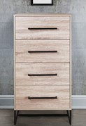 Conrad 4 Drawer Narrow Chest