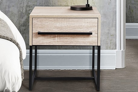 Conrad 1 Drawer Bedside